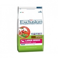 Exclusion Mediterraneo Adult Large breed pollo 12,5 kg € 37,82