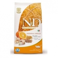 Offerta Farmina N&D Low Grain Feline Adult Merluzzo e Arancia 1,5 kg