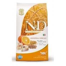 Offerta Farmina N&D Low Grain Feline Adult Merluzzo e Arancia 1,5 kg