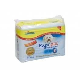 Tappetini igienici per cani Pupi Più 60x60 cm