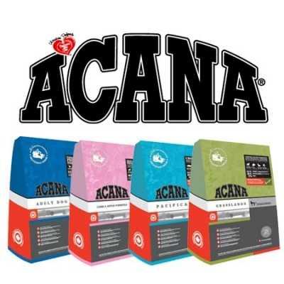Specifiche sugli alimenti secchi Acana per cani