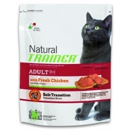 Offerta Trainer Cat Natural Adult con Pollo 1,5 kg