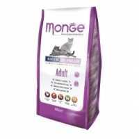 Specifiche sugli alimenti secchi Monge per gatti