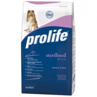 Prolife Adult Sterilised Pollo & Riso 12 Kg