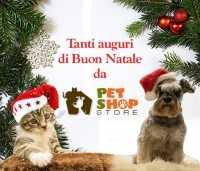 Auguri di Buone Feste e date delle spedizioni - Pet Shop Store