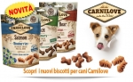 Biscotti Carnilove per Cani e Gatti