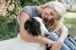 Cane con tumore di sticker e pericolosità per le donne