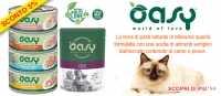 Cibo umido per cani e gatti Oasy in offerta fino ad esaurimento scorte