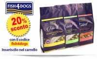 Crocchette per Cani Fish4Dogs ultimi pezzi con Codice Sconto