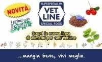 Disponibile la nuova linea di crocchette Vet-Line per cani