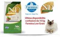 Farmina Gatto sacchi da 10 Kg Ultime disponibilità prima del Fuori Produzione