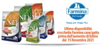 Farmina Variazione Listino Ultimi pezzi Disponibili
