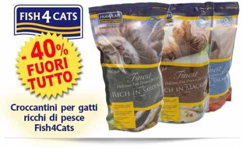 Monge Adult per Cani e Fish4 per Gatti in Offerta