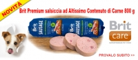 Novità Brit premium Salsiccia ed Exclusion Mediterraneo Agnello | Offerta cibo umido gatto Lifecat