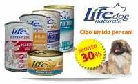Offerta sul Cibo Umido per Cani LifeDog, sulle Lettiere ed i Giochi per Gatti