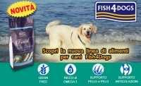 Scopri la nuova linea di alimenti per Cani Fish4Dogs